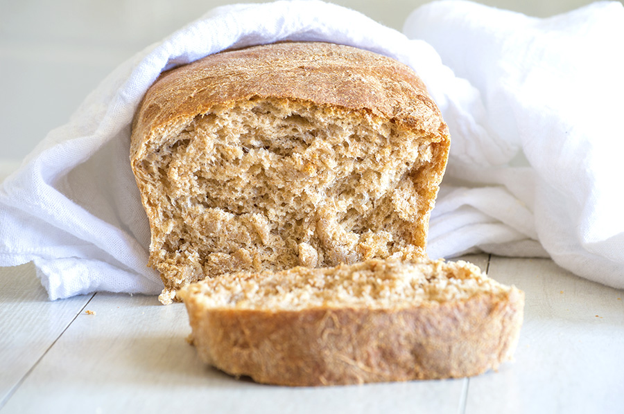 Whole Wheat Bread | Homan at Home