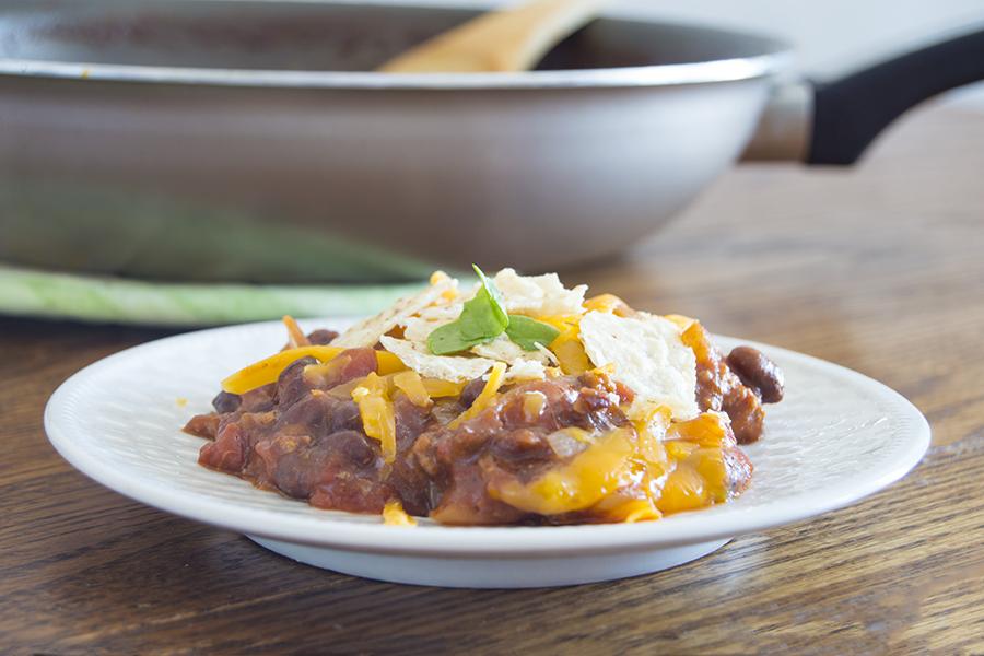 Enchilada Skillet | Homan at Home