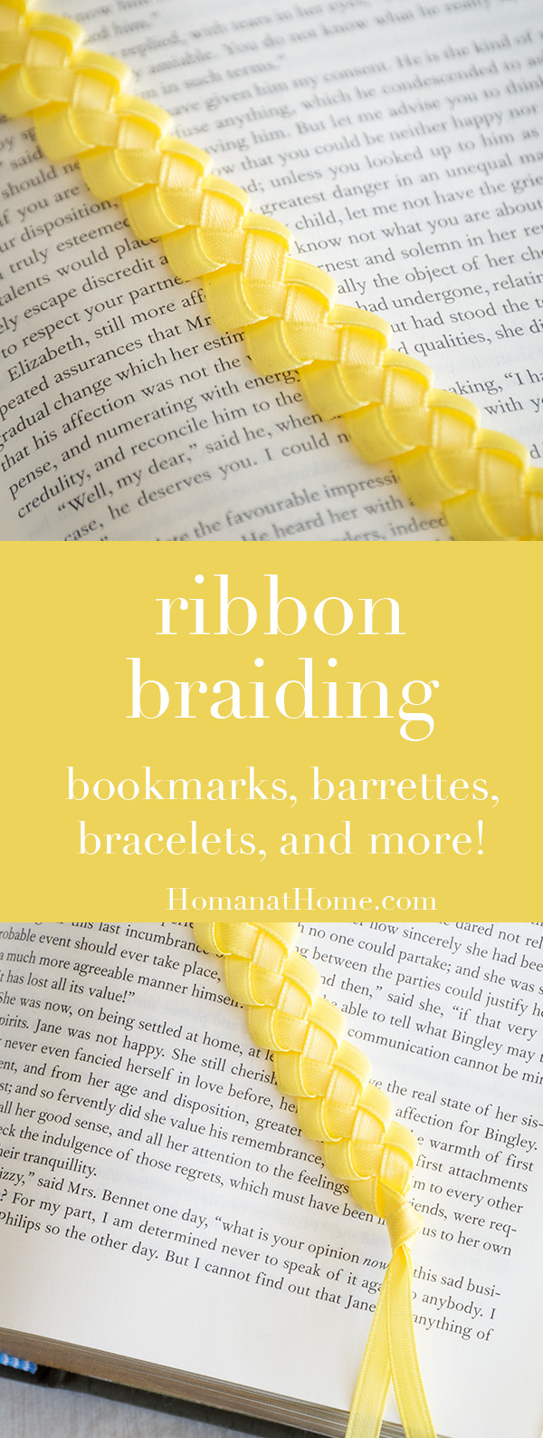 Ribbon Braiding | Homan at Home