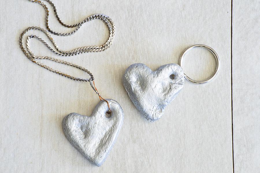 Salt Dough Thumbprint Heart | Homan at Home
