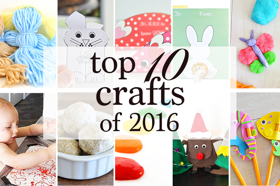 Top 10 Crafts of 2016 | Homan at Home