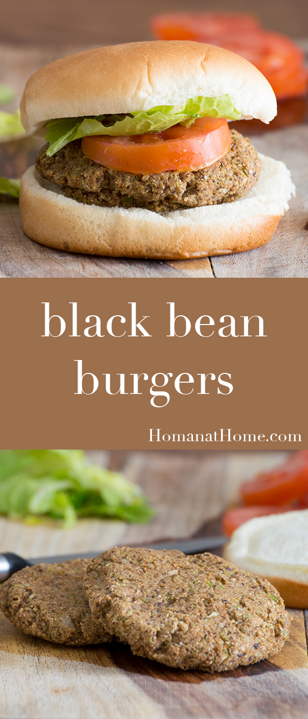 Black Bean Burgers | Homan at Home