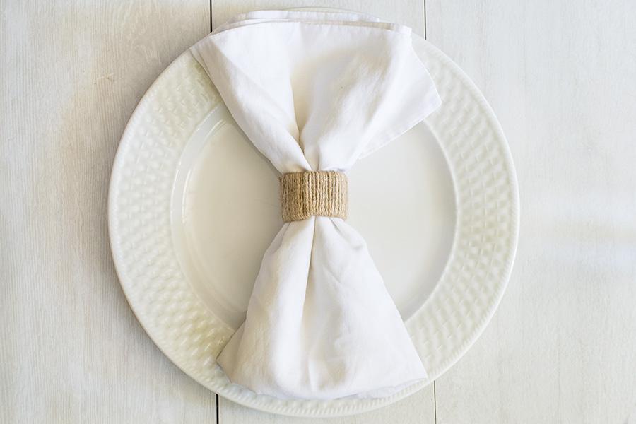 Paper Towel Tube Napkin Rings
