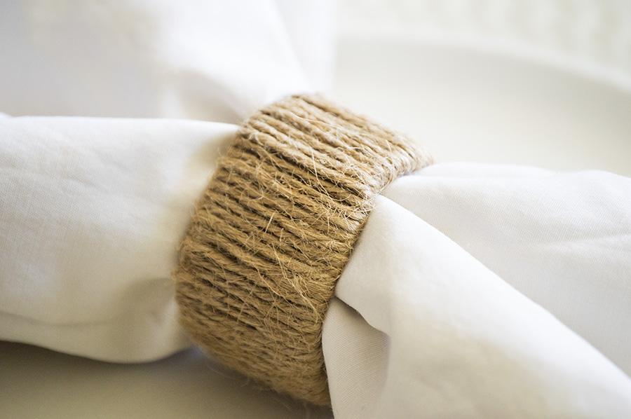 Paper Towel Tube Napkin Rings | Homan at Home