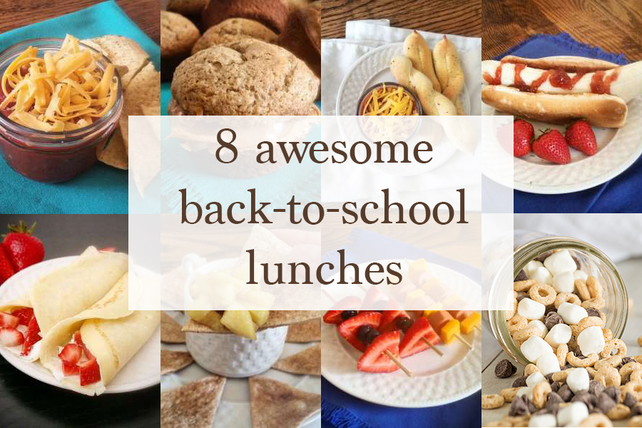 8 Awesome Back-to-School Lunches