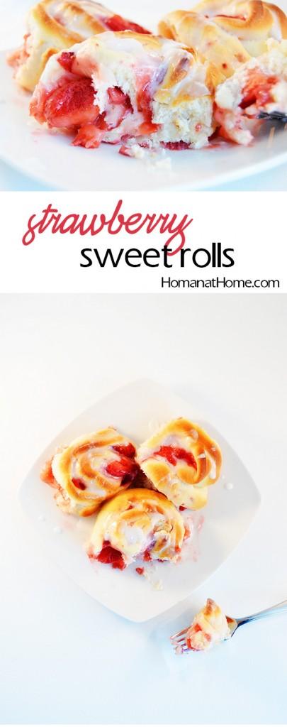 Strawberry Sweet Rolls | Homan at Home