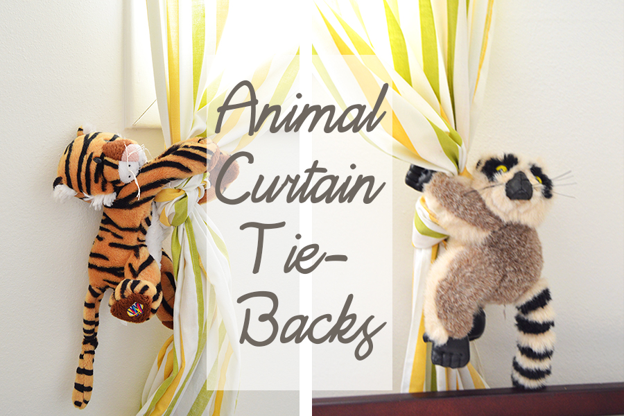 Animal Curtain Tie-Backs