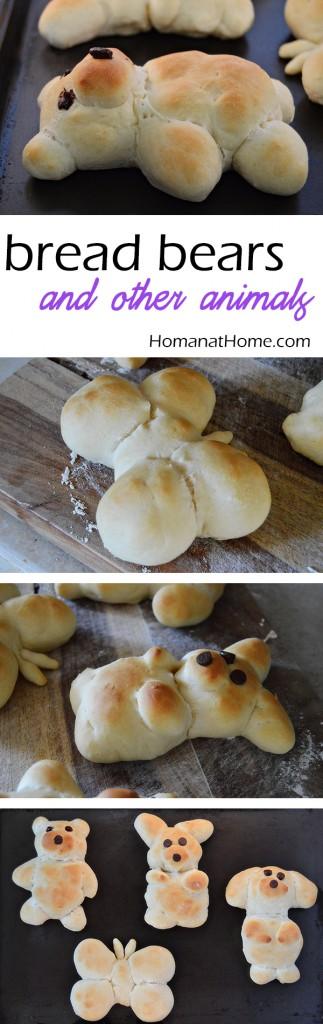 Bread Bears | Homan at Home
