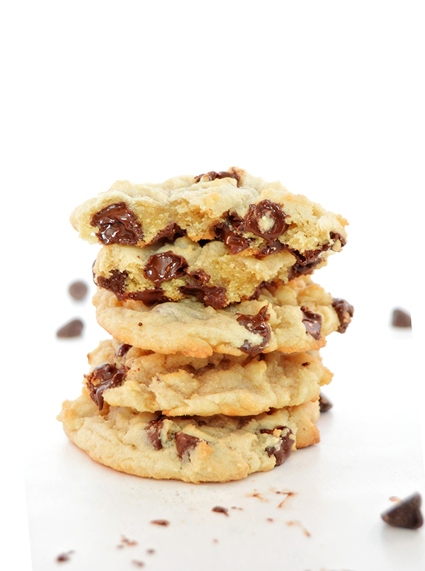 Chocolate Chip Cookies Tall