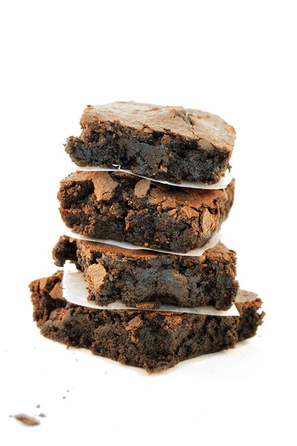 Dark Chocolate Brownies |Homan at Home