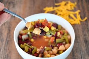 Mexican Bean Soup Header