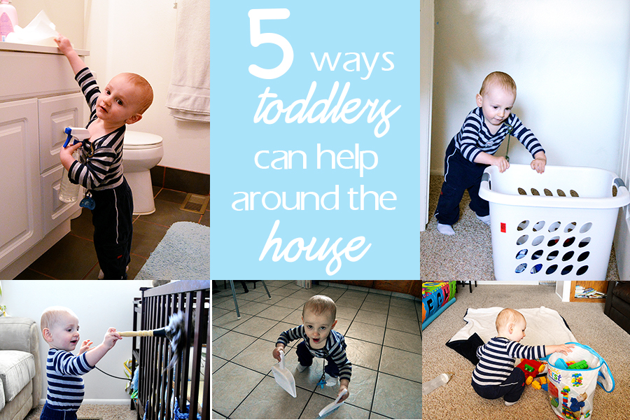 5 Ways Your Toddler Can Help Around the House