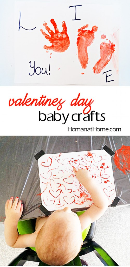 Valentines Day Baby Crafts | Homan at Home