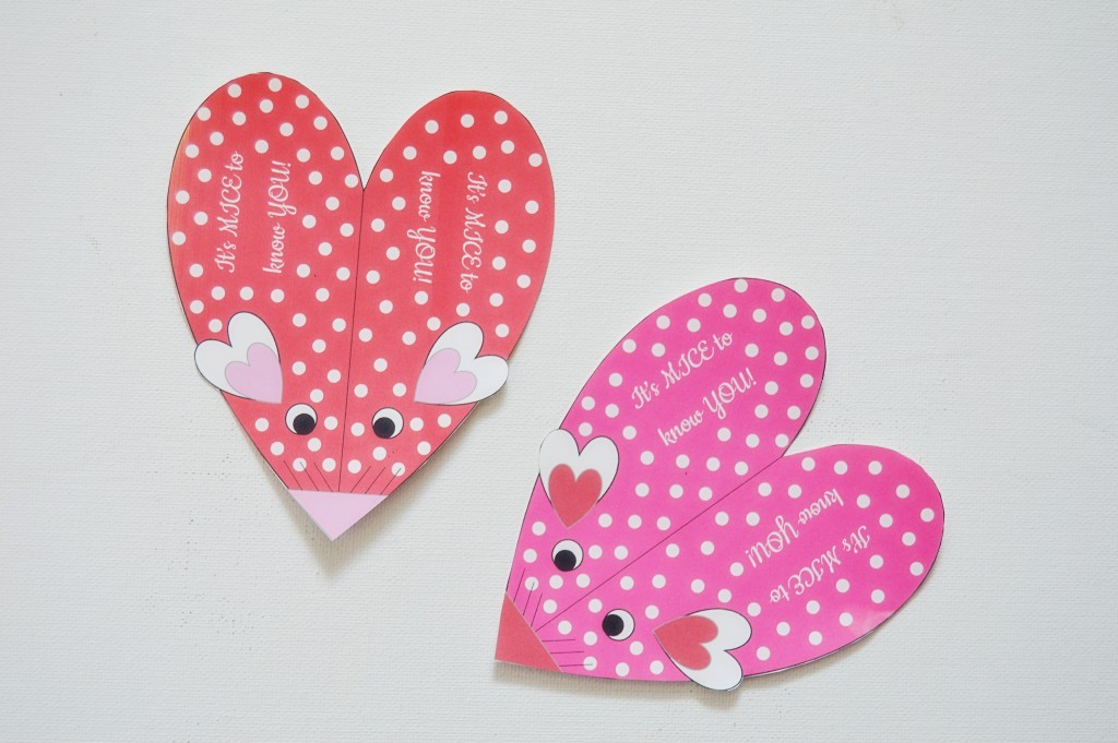 Valentines Candy Mice | Homan at Home