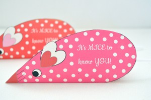 Valentines Day Candy Mice | Homan at Home