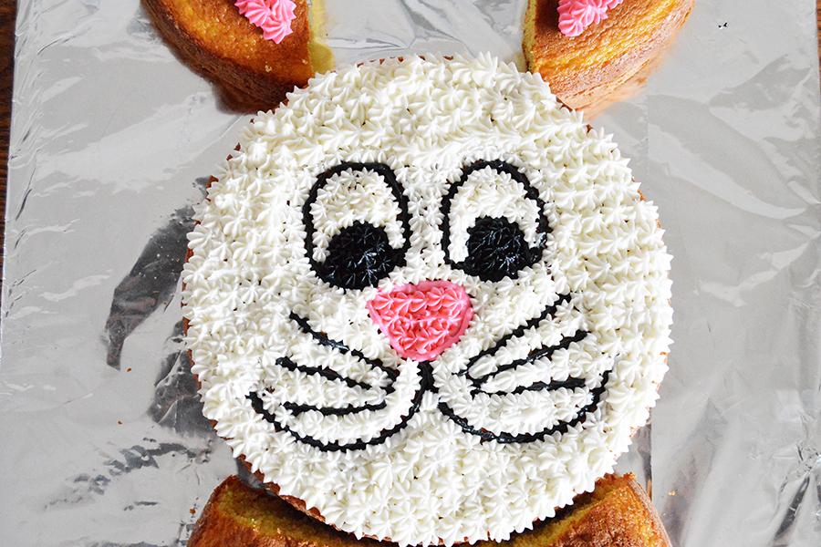 Bunny Cut Up Cake | Homan at Home