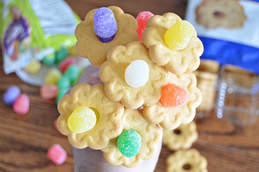 Gumdrop Cookie Flowers | Homan at Home