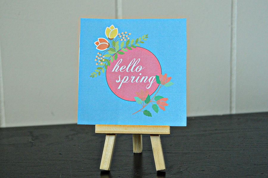 Four Free Spring Printables | Homan at Home