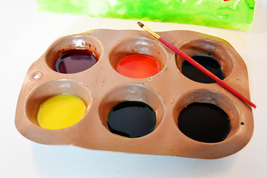 Scratch 'n Sniff Watercolors | Homan at Home