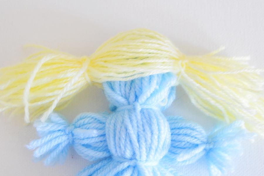 Yarn Dolls   Homan at Home