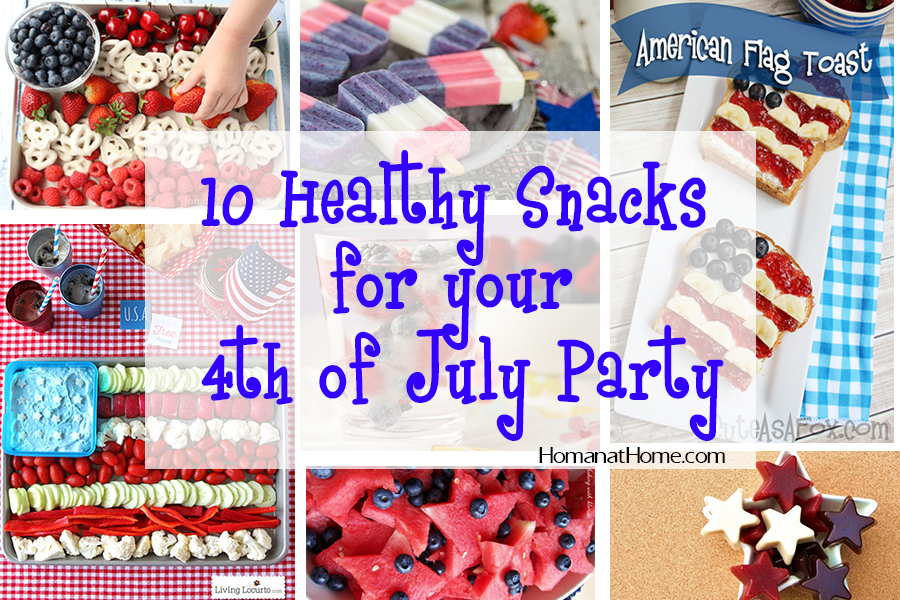 10 Healthy Snacks for the 4th of July