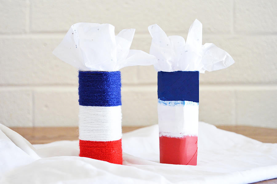 Firecracker Centerpieces | Homan at Home