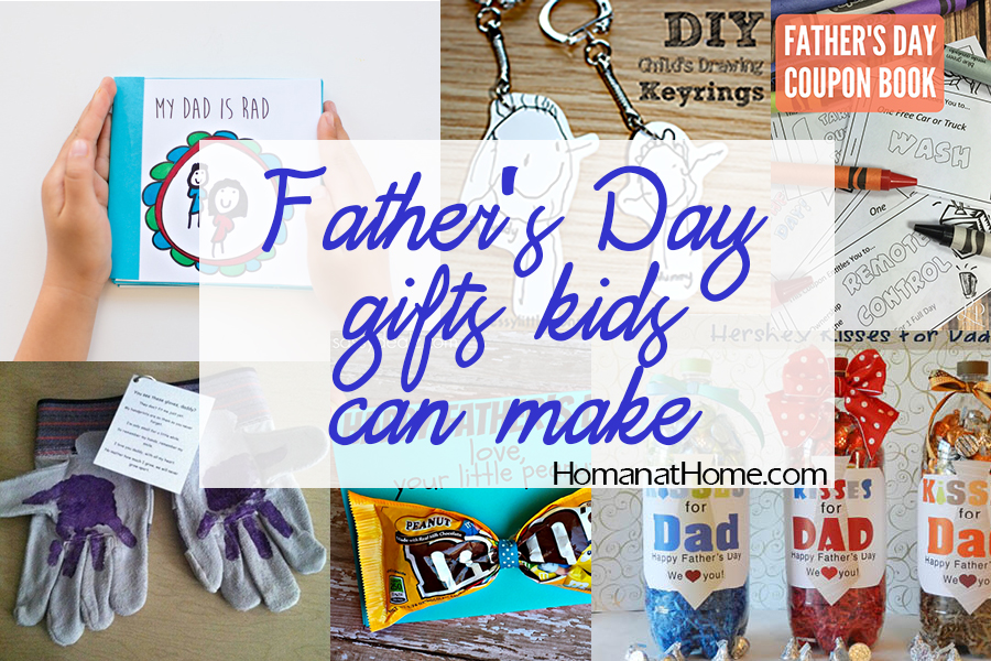 10 Father's Day Gifts Kids Can Make