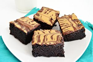 Marbled Peanut Butter Brownies | Homan at Home