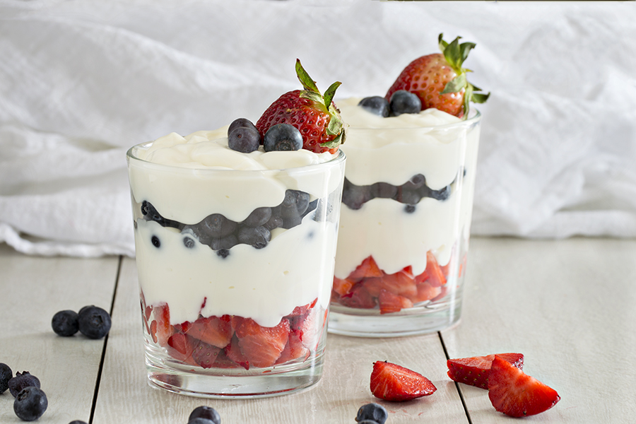 Patriotic Parfaits | Homan at Home