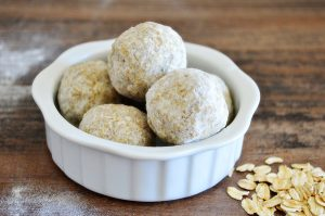 Oatmeal and Olive Oil Bath Truffles | Homan at Home