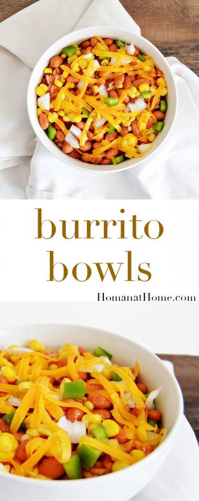 Burrito Bowls | Homan at Home