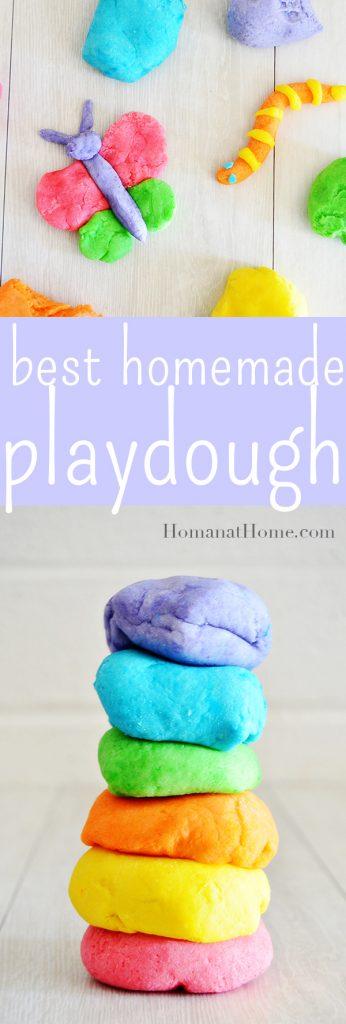 Best Homemade Playdough | Homan at Home