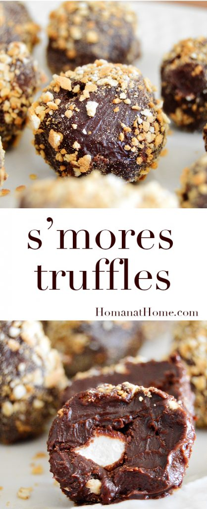 S'mores Truffles | Homan at Home