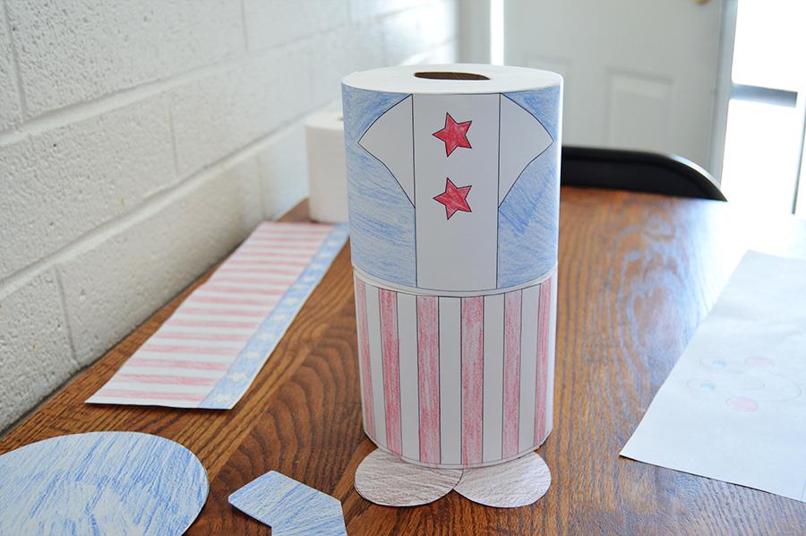 Uncle Sam Kids Craft | Homan at Home