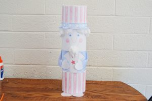 Uncle Sam Craft for Kids | Homan at Home