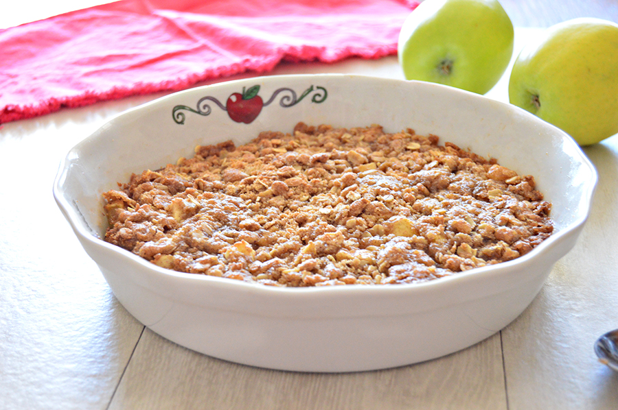 Easy Apple Crisp | Homan at Home