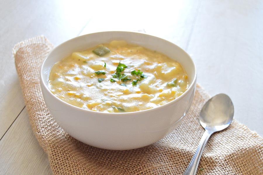 Cream Corn Chowder | Homan at Home