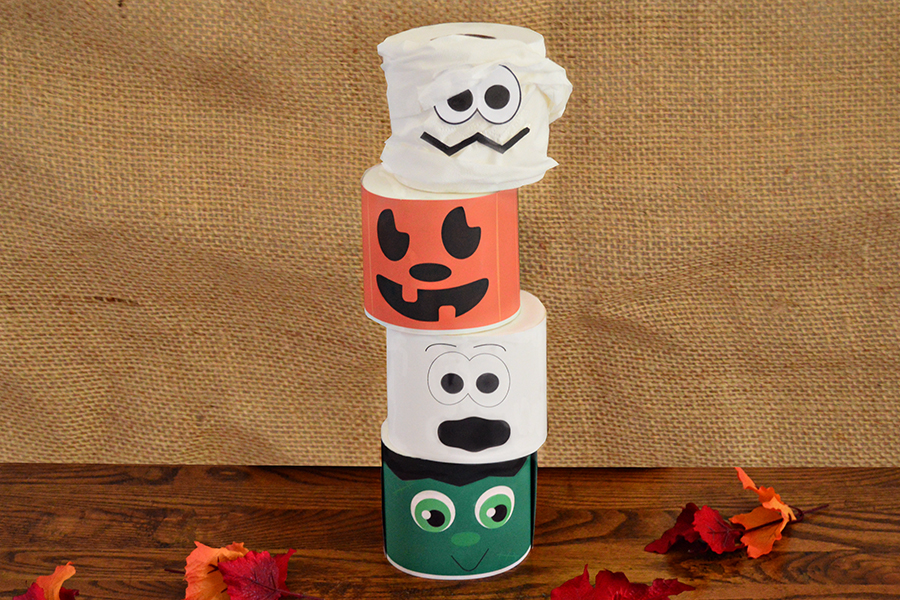 Toilet Paper Roll Tower of Terror