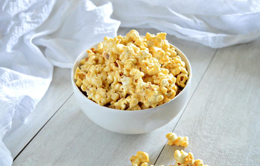 Easy Caramel Popcorn | Homan at Home