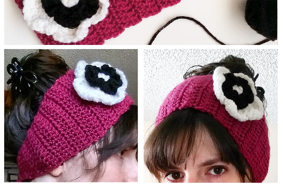 Crocheted Winter Headband