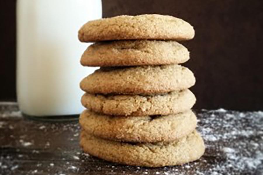 Talkeetna Roadhouse Ginger Molasses Cookies