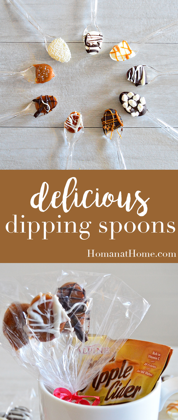 Delicious Dipping Spoons | Homan at Home