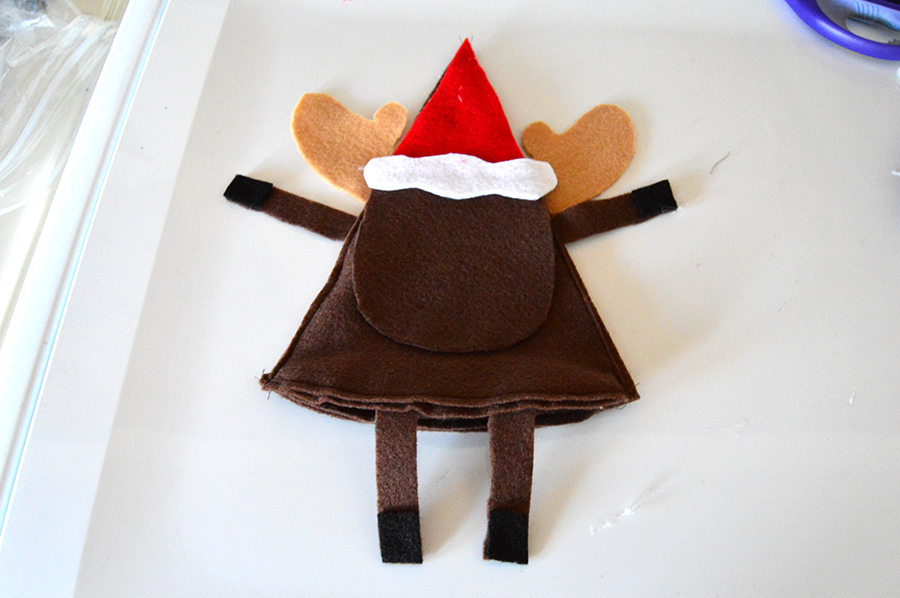 Reindeer Candy Holder | Homan at Home
