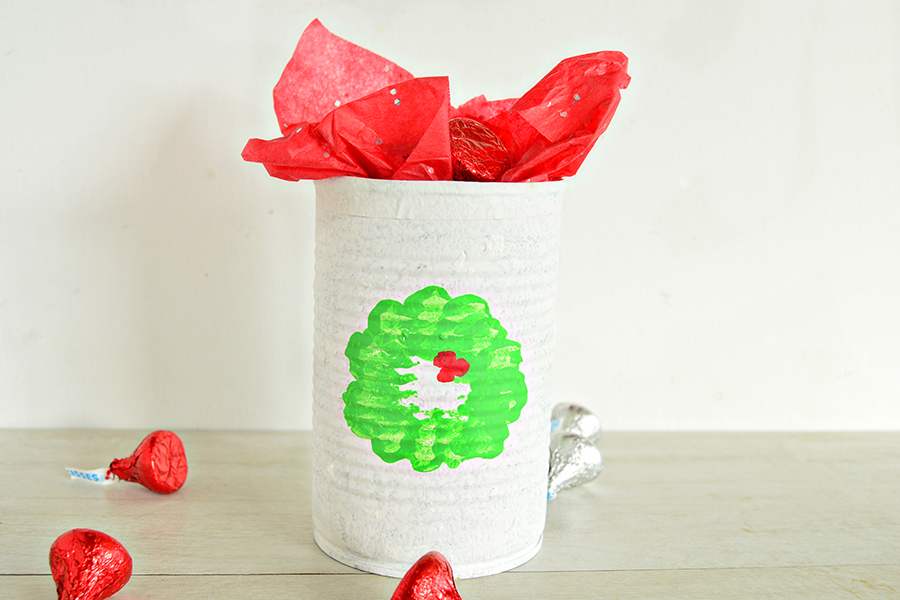 Christmas Candy Can | Homan at Home
