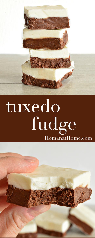 Tuxedo Fudge | Homan at Home