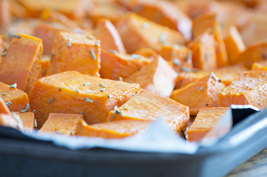 Roasted Sweet Potatoes | Homan at Home