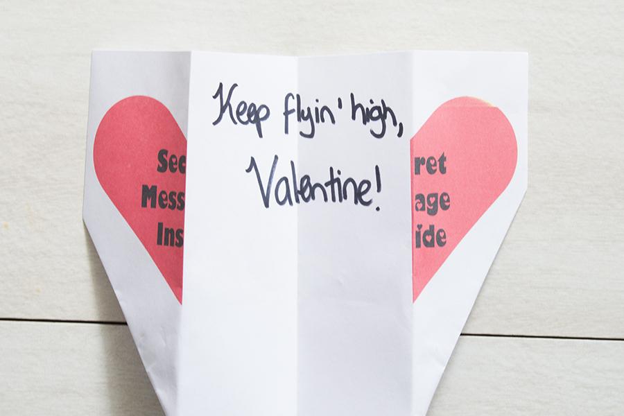 Valentines Airplane   Homan at Home