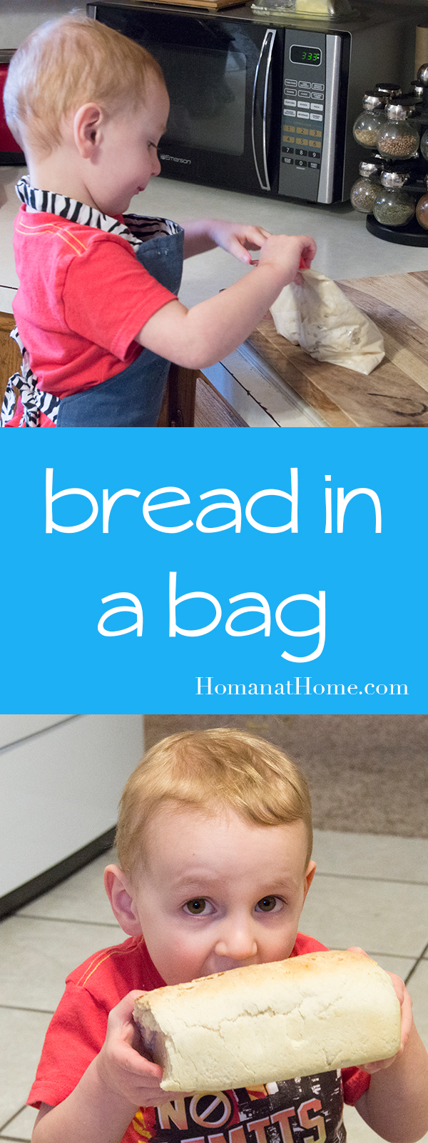 Bread in a Bag   Homan at Home