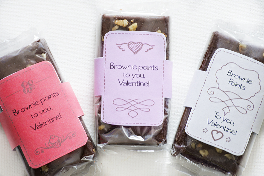 Brownie Points Valentines | Homan at Home