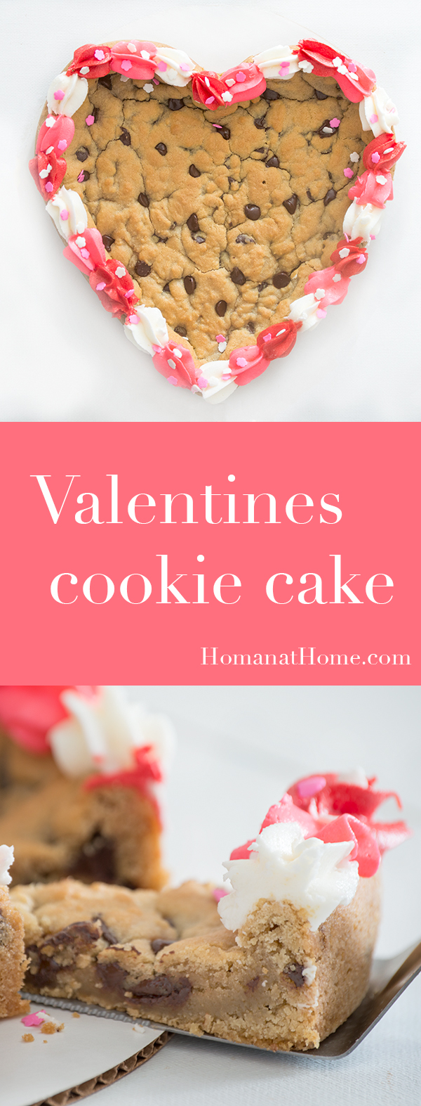 Valentines Cookie Cake | Homan at Home